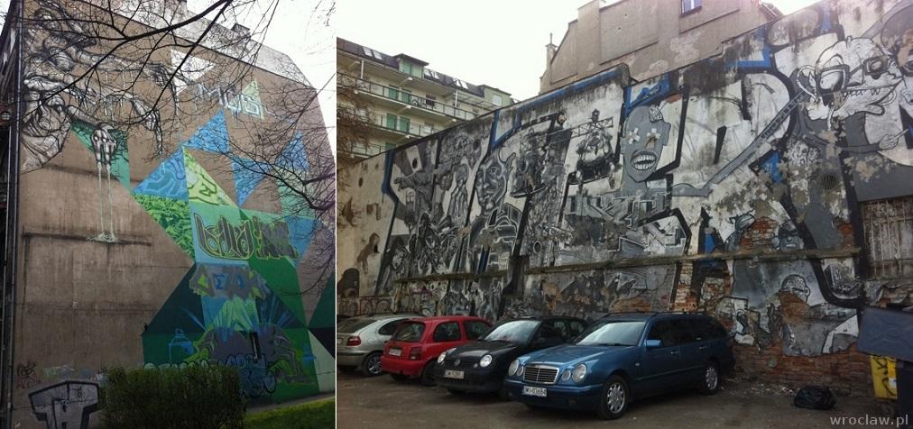 murale przy ul. Wyszyńskiego