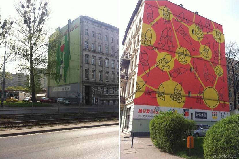 murale na Fabrycznej