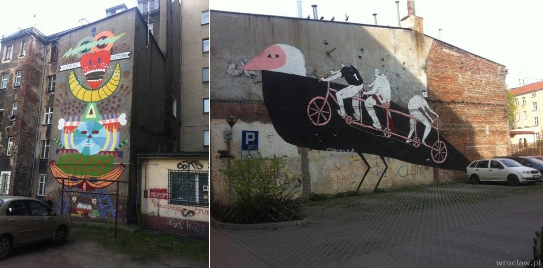 murale na Śródmieściu
