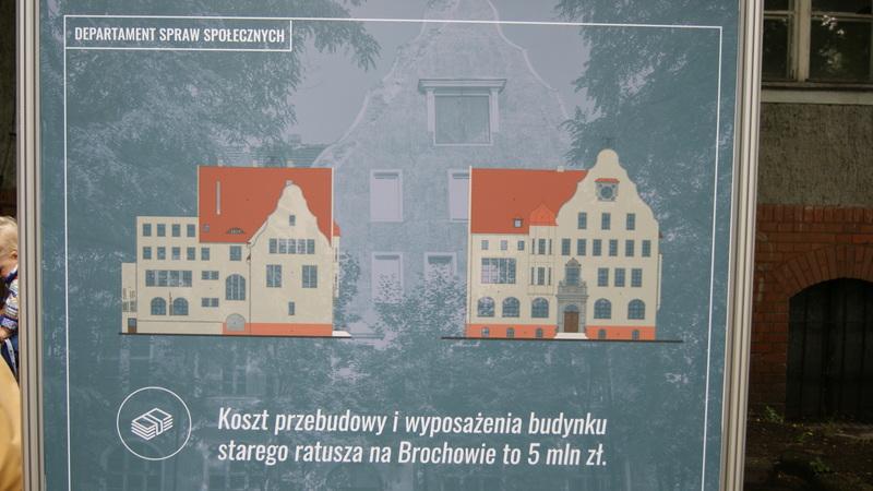 Do 2019 w ratuszu na Brochowie powstanie centrum aktywności społecznej