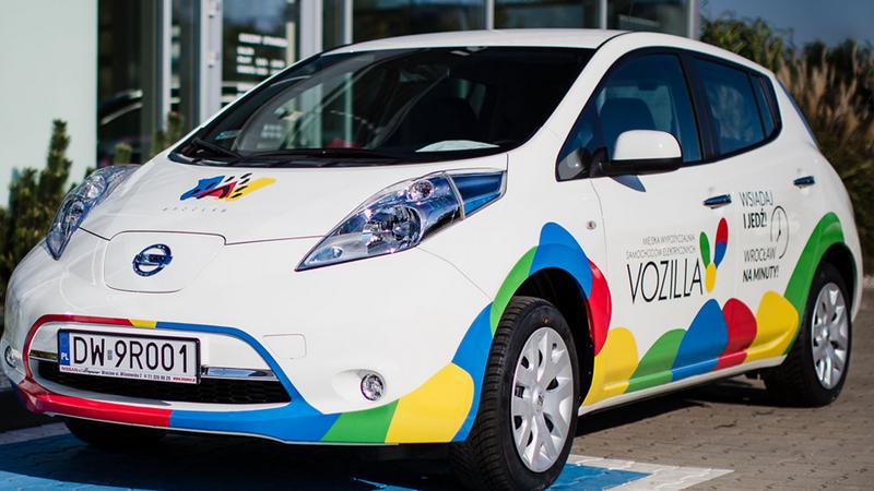 Zobacz, jak działa VOZILLA. Start miejskiej wypożyczalni aut elektrycznych już 4 listopada