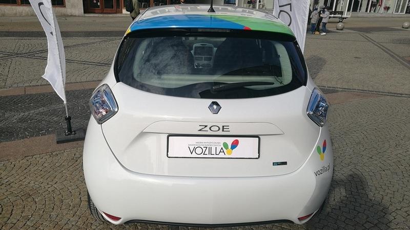 Renault Zoe w systemie Vozilla już od marca na ulicach Wrocławia