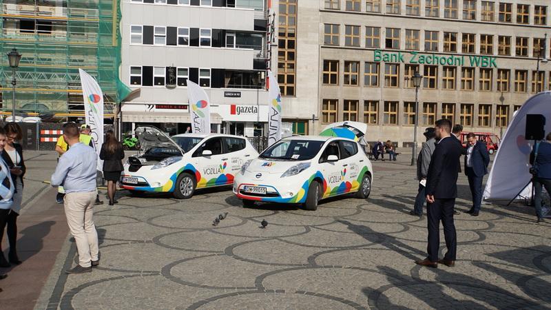 Vozilla - pierwsza w Polsce miejska wypożyczalnia aut elektrycznych