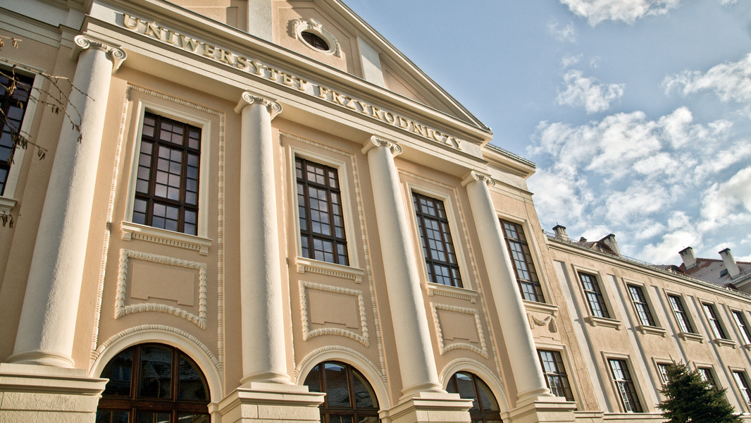 Główny Gmach Uniwersytetu Przyrodniczego, fot. Tomasz Lewandowski/UPWr