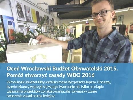 Oceń Wrocławski Budżet Obywatelski