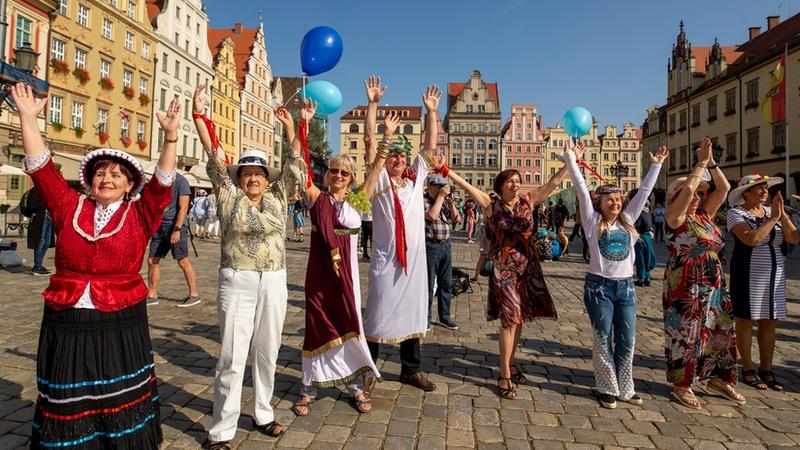 Inauguracja Dni Seniora 2021, fot. Tomasz Hołod / Redakcja www.wroclaw.pl