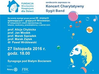 Koncert Charytatywny Sygid Band