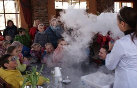Warsztaty Naukowe dla dzieci w CK Zamek