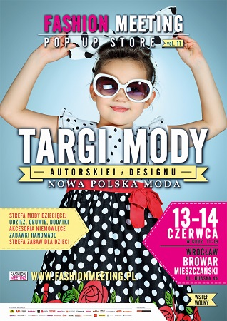 Targii mody targów Fashion Meeting POP UP STORE