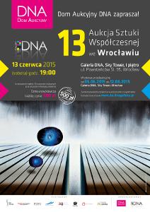 13. Aukcja Sztuki Współczesnejw Galerii DNA