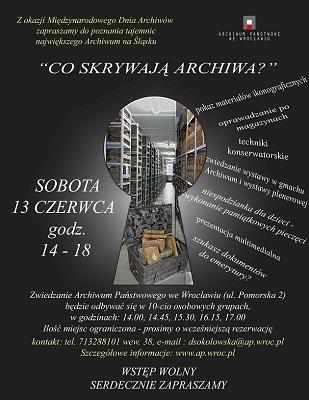 Dzień Otwarty w Archiwum Państwowym we Wrocławiu