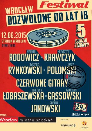 Dozwolone od lat 18 – koncert na Stadionie Wrocław