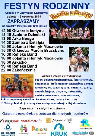 Festyn rodzinny na Kozanowie