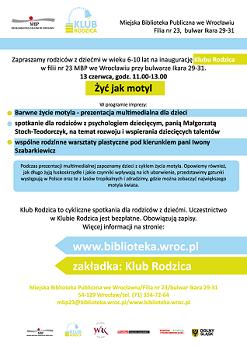 "Inauguracja Klubu Rodzica \"" data-mce-src="