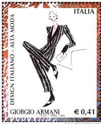 Moda na znaczkach - znaczki w modzie