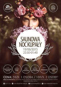 Saunowa Noc Kupały w Aquaprk Wrocław