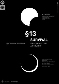 Przegląd sztuki Survival