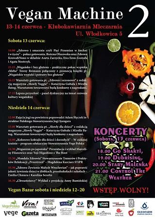 Festiwal Kuchni Vegańskiej Vegan Machine