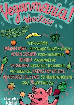 Veganmania - festiwal wegańskich inicjatyw
