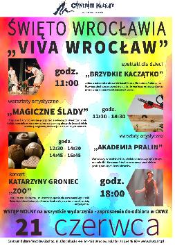 VIVA WROCŁAW z koncertem Katarzyny Groniec