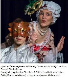 Na skrzydłach dell\'arte - teatralne zajęcia pokazowe
