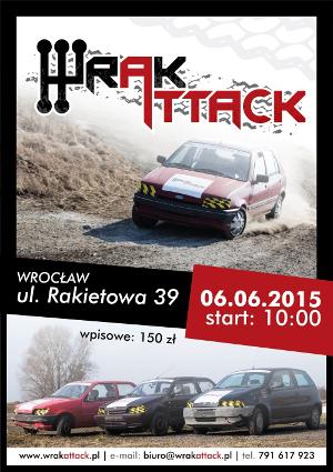 Wrak Attack - I edycja wyścigu wraków