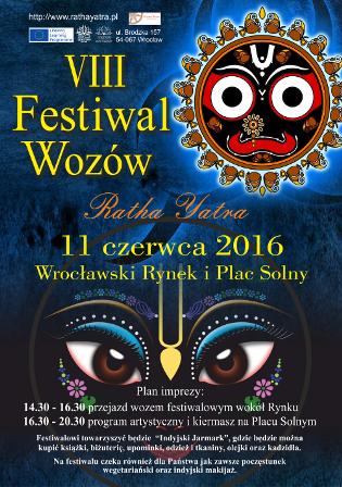 VIII Edycji Ratha yatry, czyli Festiwal Wozów