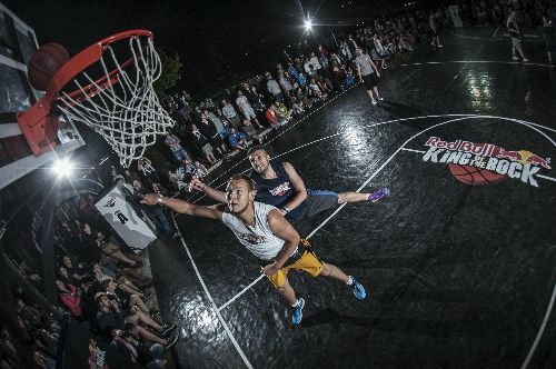 Koszykarski turniej Red Bull King of The Rock