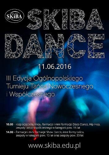 III Ogólnopolski Turniej Taneczny Skiba Dance