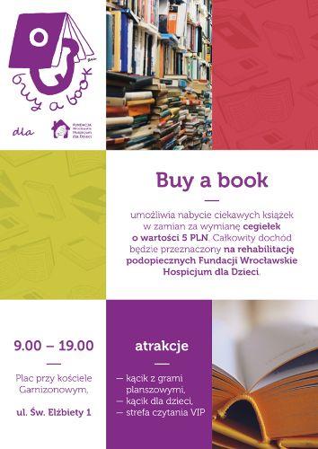 BUY A BOOK 6: akcja na rzecz Wrocławskiego Hospicjum dla Dzieci