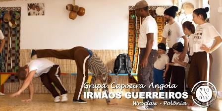 Warsztaty Capoeira Angola - 7. urodziny grupy Irm?os Guerreiros Wrocław - Polônia