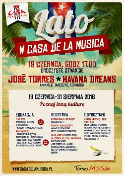 Poznaj Inną Kulturę - Lato w Casa de la Musica