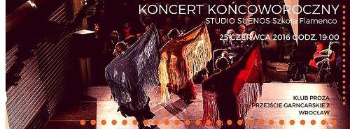 Pokaz flamenco w Klubie Proza