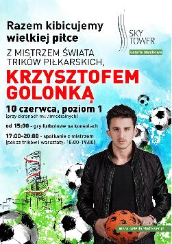 Warsztaty z Mistrzem Świata Trików Piłkarskich w Sky Tower