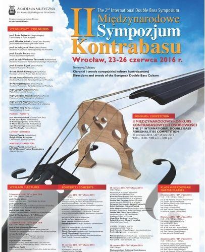 II Sympozjum Kontrabasowe w Akademii Muzycznej