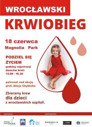 Zbiórka krwi w Magnolia Park