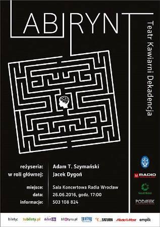 Labirynt – charytatywny spektakl teatralno- filmowy