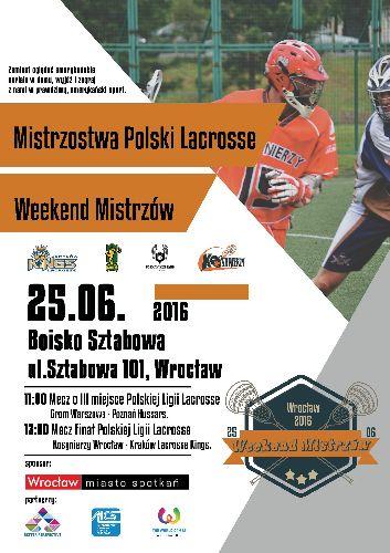 Wielki finał lacrosse we Wrocławiu
