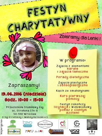 Festyn Charytatywny - Zbieramy dla Lenki