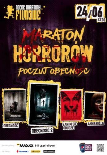 Maraton Horrorów: Poczuj Obecność