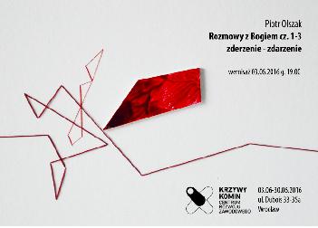 Wernisaż wystawy Piotrz Olszaka: Rozmowy z Bogiem