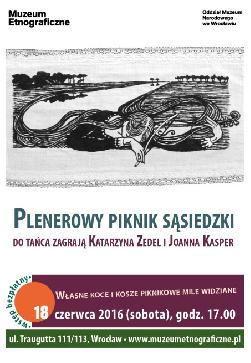 Plenerowy piknik sąsiedzki z Katarzyną Zedel i Joanną Kasper