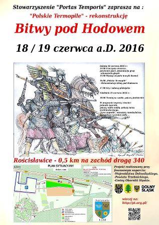 Polskie Termopile – Rekonstrukcja bitwy pod Hodowem