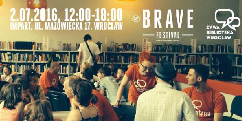Żywa Biblioteka w ramach Brave Festival 2016