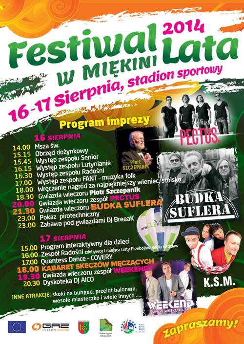 Festiwal Lata w Miękini 2014