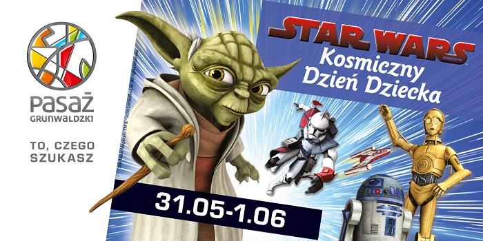 Star Wars ? kosmiczny Dzień Dziecka w Pasażu Grunwaldzkim