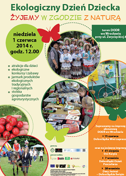 Ekologiczny Dzień Dziecka ? Żyjemy w Zgodzie z Naturą