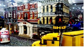 Budowle z klocków Lego
