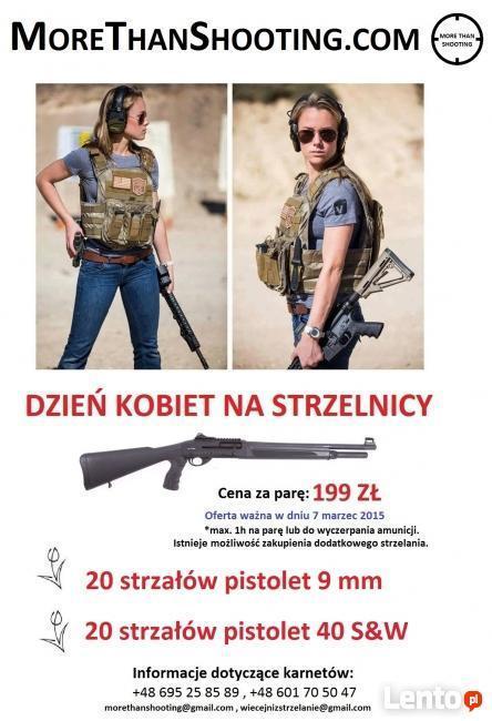 Dzień Kobiet na strzelnicy dla par