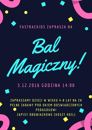 Bal Magiczny w FasTracKids